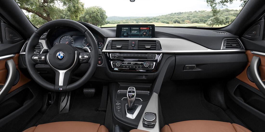 BMW 4er Cabrio Facelift (2017) Interieur