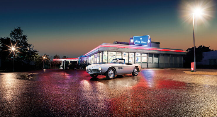 BMW 507 - Roadster - Elvis Auto - V8 - Restauration