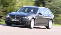 BMW 518d Touring, Frontansicht