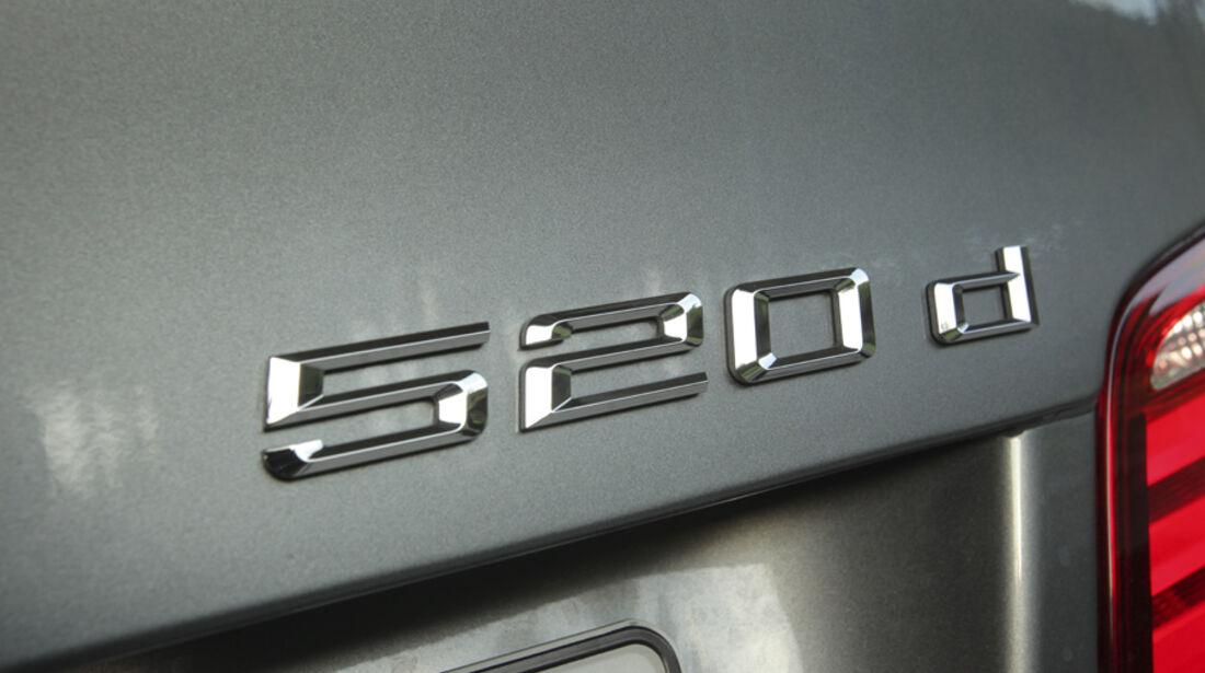 BMW 520d EDE, Emblem