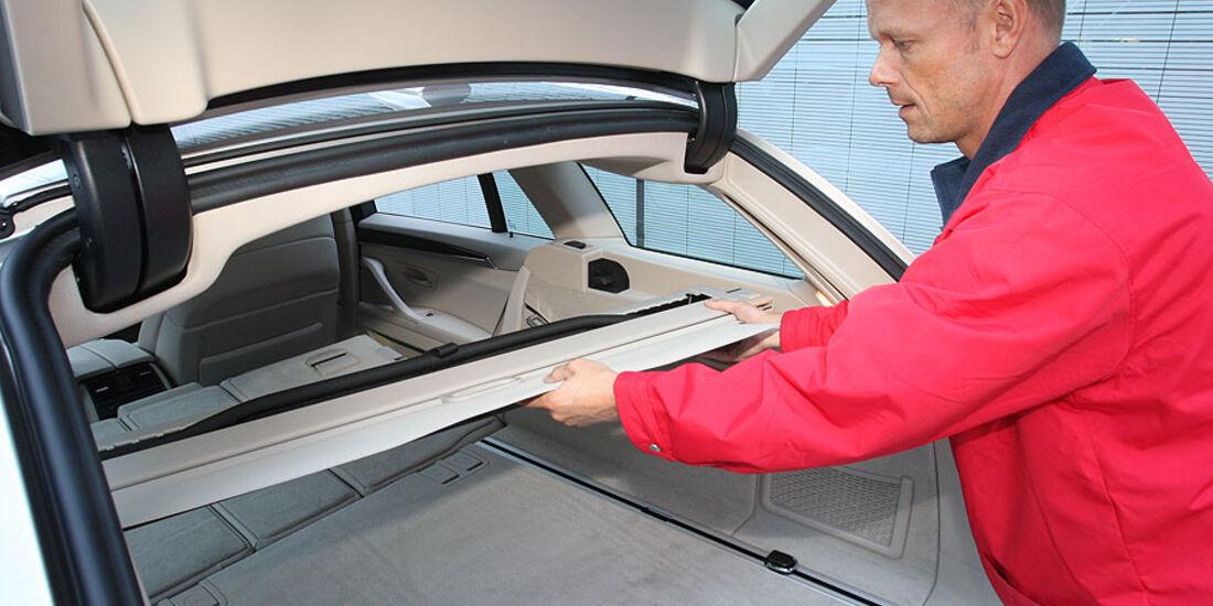 BMW 520d Touring, Rollo-Kasette