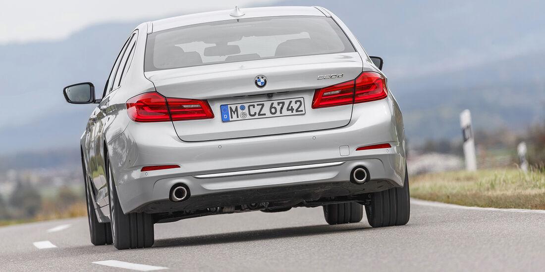 BMW 520d, exterieur