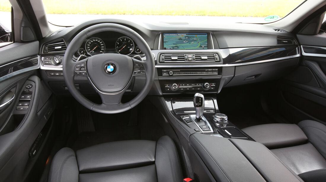 BMW 520i Touring, Cockpit