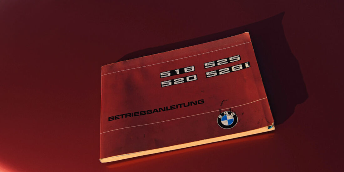 BMW 528i, Betriebsanleitung