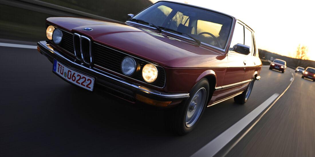 BMW 528i, Frontansicht