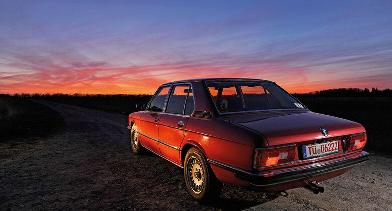 BMW 528i, Heck