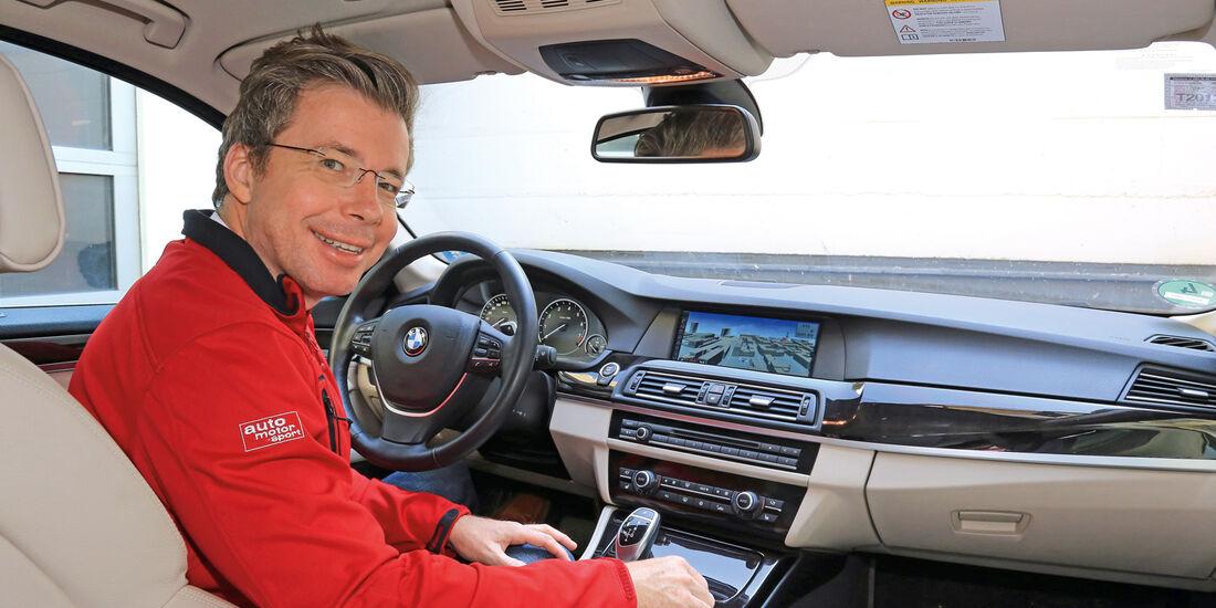 BMW 528i Touring, Cockpit