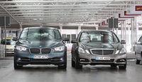 BMW 530d GT und Mercedes E 350 CDI T-Modell