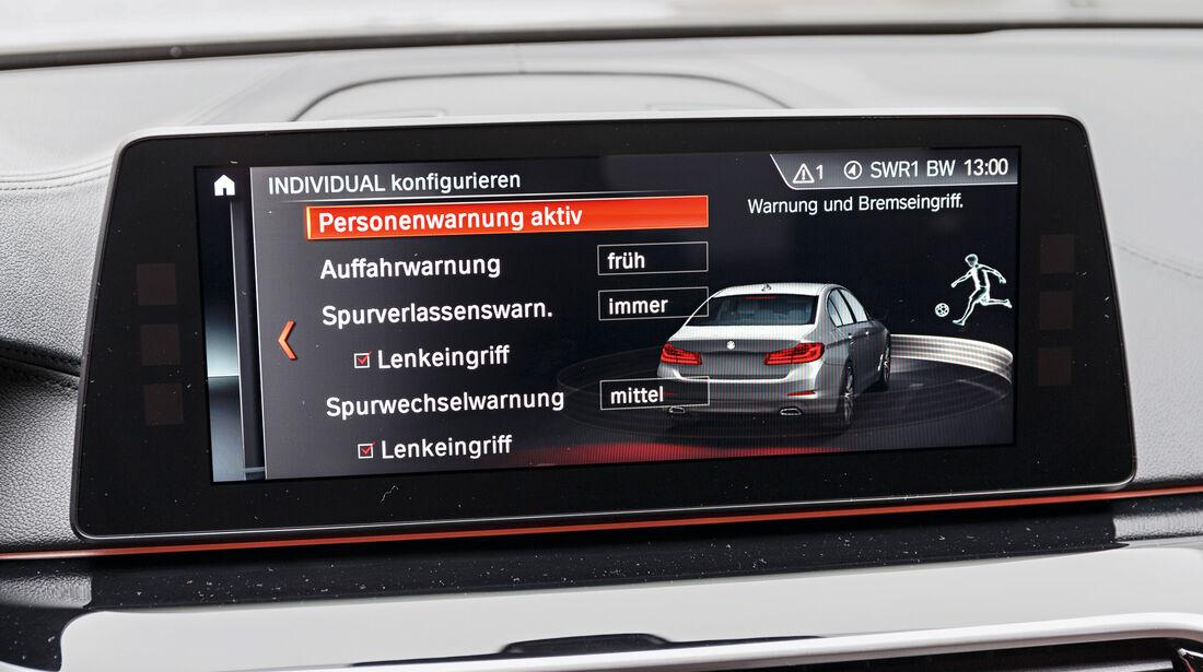 BMW 530d, Navi, Rundinstrumente
