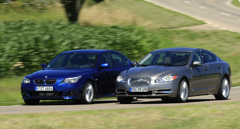 BMW 535d, Jaguar XF 3.0 V6 Diesel S