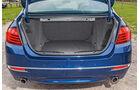 BMW 535d, Kofferraum