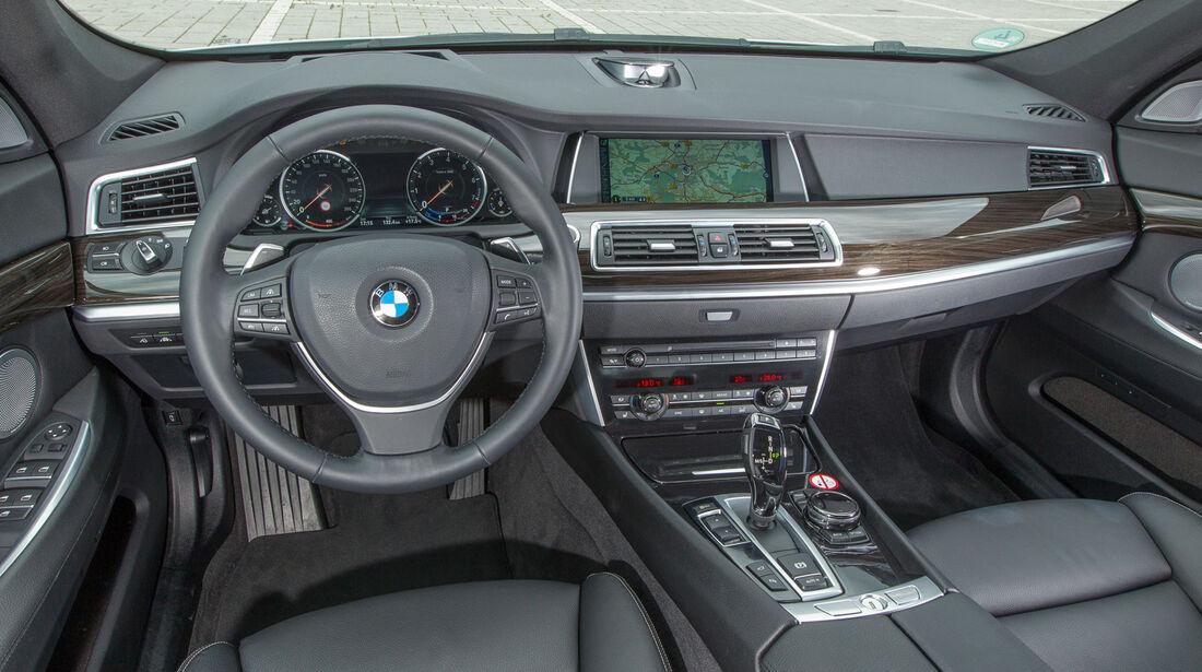 BMW 535i Gran Turismo, Cockpit