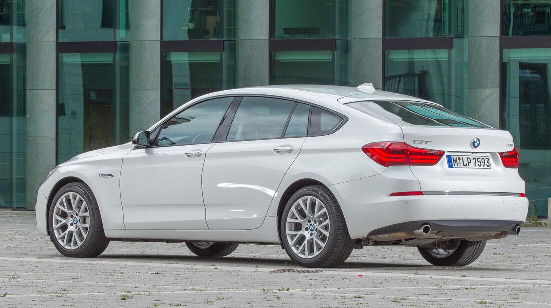 BMW 535i Gran Turismo, Heckansicht