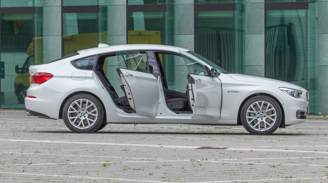 BMW 535i Gran Turismo, Seitenansicht