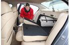 BMW 535i Rücksitzbank
