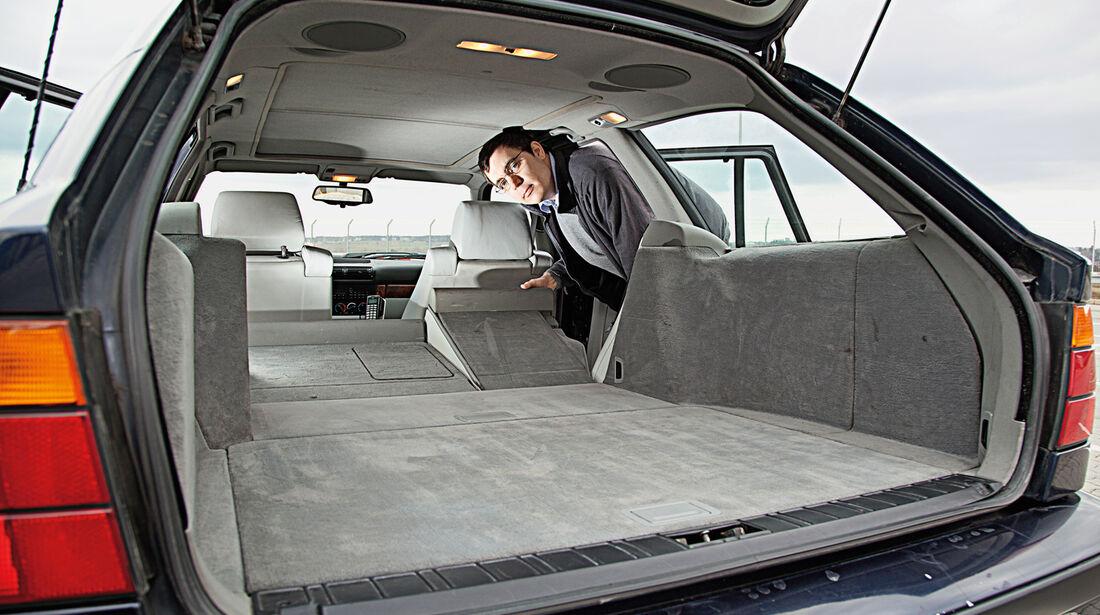 BMW 540i Touring, Ladefläche