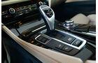 BMW 550i, Schalthebel, Schaltknauf