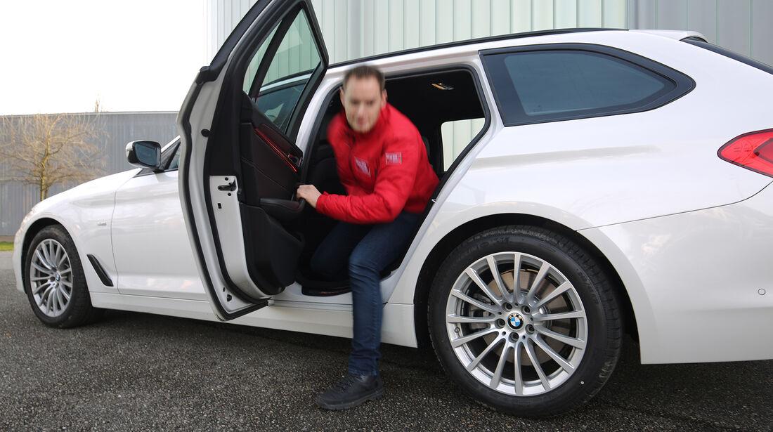 BMW 5er Touring, Exterieur