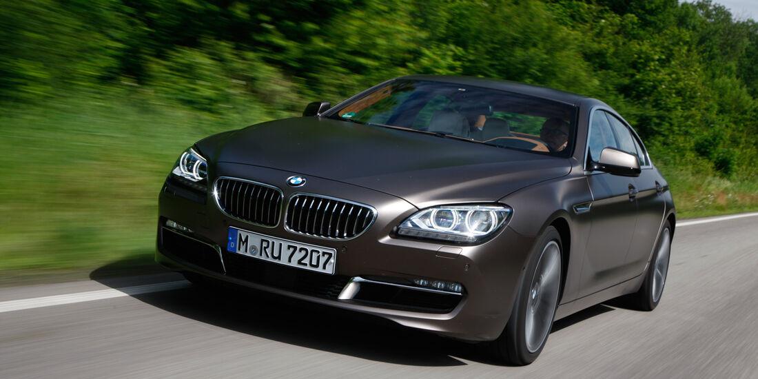 BMW 640d Gran Coupé, Frontansicht