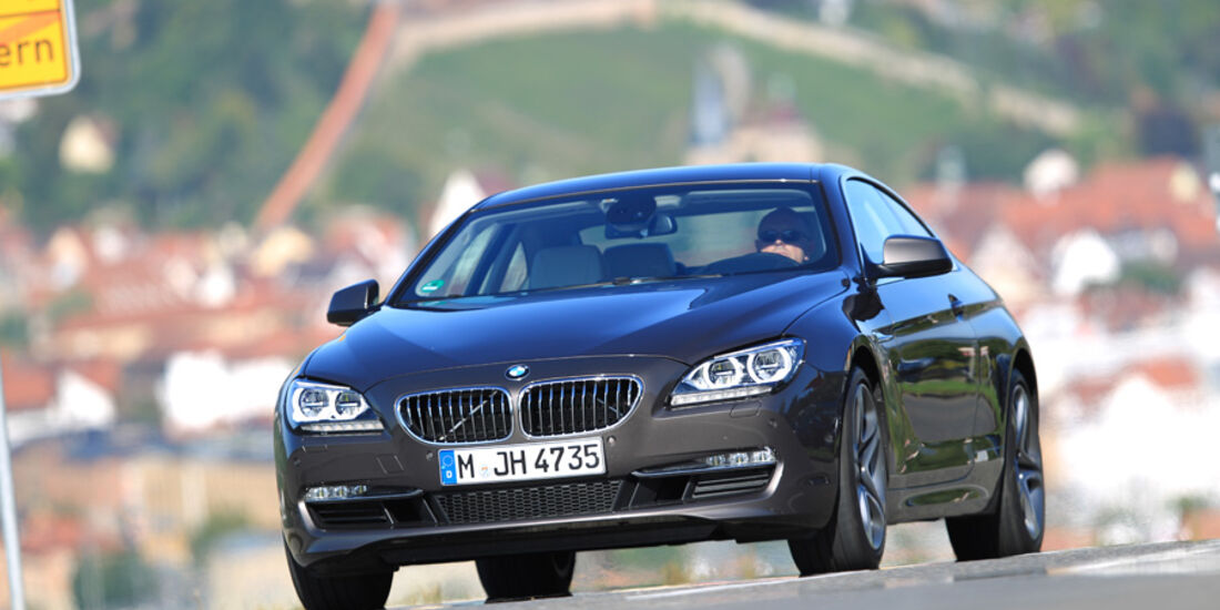 BMW 640i Coupe, Front