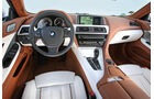 BMW 640i Gran Coupé, Cockpit, Lenkrad