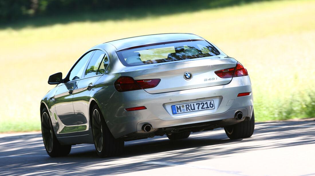 BMW 640i Gran Coupé, Heckansicht