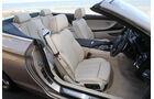 BMW 650i Cabrio, Innenraum