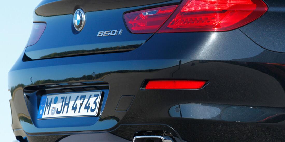 BMW 650i Coupé, Auspuff, Endrohre