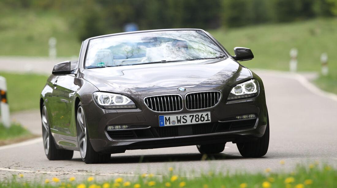 BMW 650i, Frontansicht