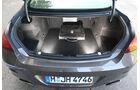 BMW 650i, Kofferraum