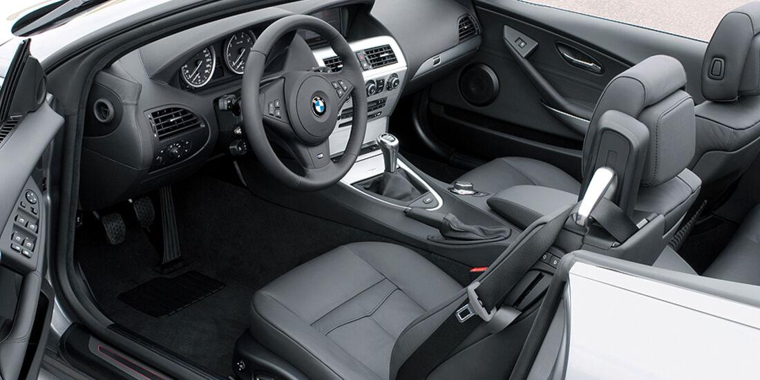 BMW 6er Cabrio Innenraum