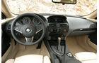 BMW 6er, Coupé, Innenraum, Cockpit, 2003