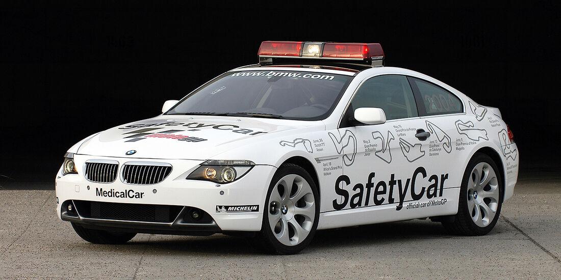 BMW 6er Coupé Safety-Car - Moto GP 2004