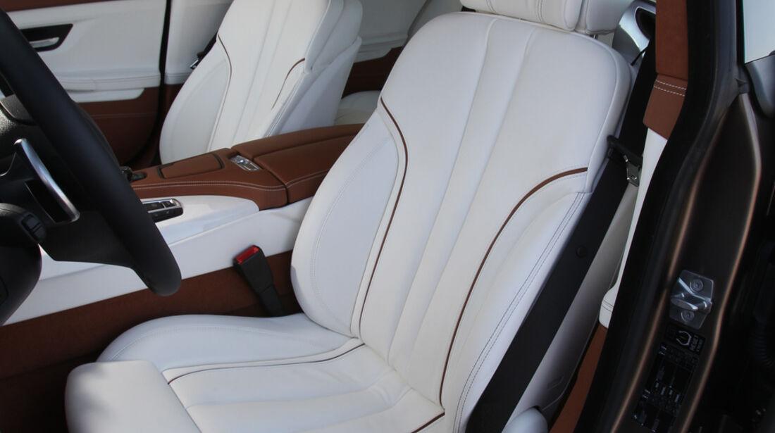 BMW 6er Gran Coupé, Vordersitz, Fahrersitz