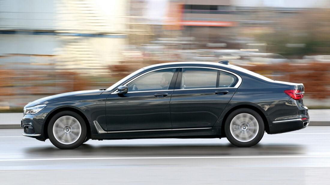 BMW 730d, Seitenansicht