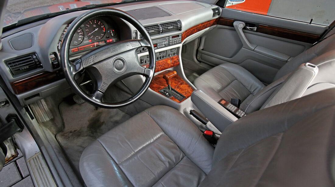BMW 730i–750iL (E 32), V8/V12, Cockpit