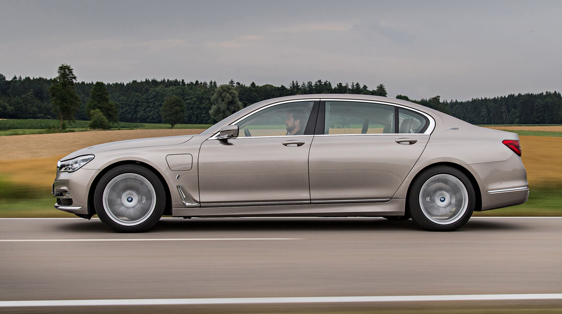 BMW 740e Fahrbericht
