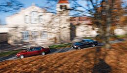 BMW 750 iL, Mercedes-Benz 600 SEL, Seitenansicht
