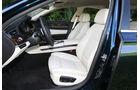 BMW 750i, Fahrersitz