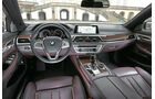 BMW 750i xDrive, Cockpit