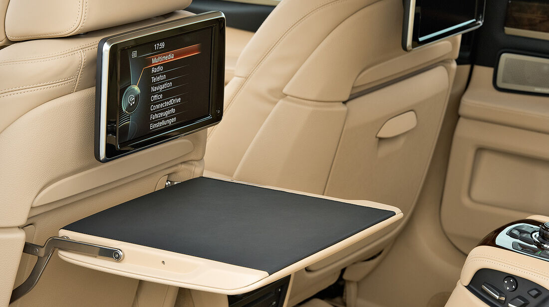 BMW 7er, Fond, Rear-Seat-Entertainment