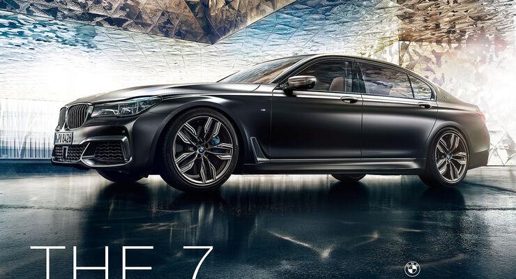 BMW 7er Luxus Neuer Markenauftritt IAA 2017
