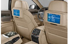 BMW 7er, Rear-Seat-Entertainment, Bildschirm