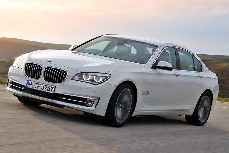 1 36 BMW Bringt Im Juli 2012 Das Facelift Des 7er Auf Den Markt Foto