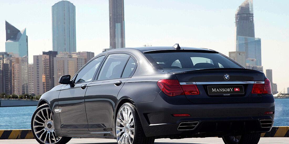 BMW 7er von Mansory, Heck