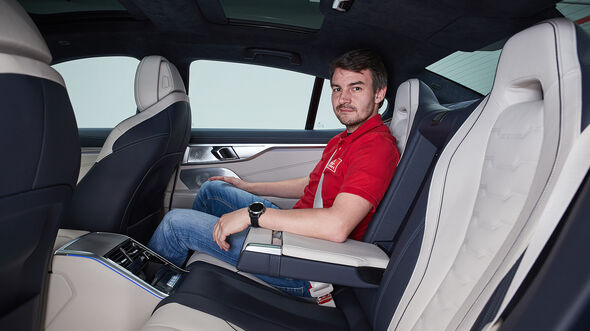 BMW 8er Gran Coupé, Fond, Rücksitze