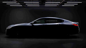 BMW 8er Gran Coupé Teaser
