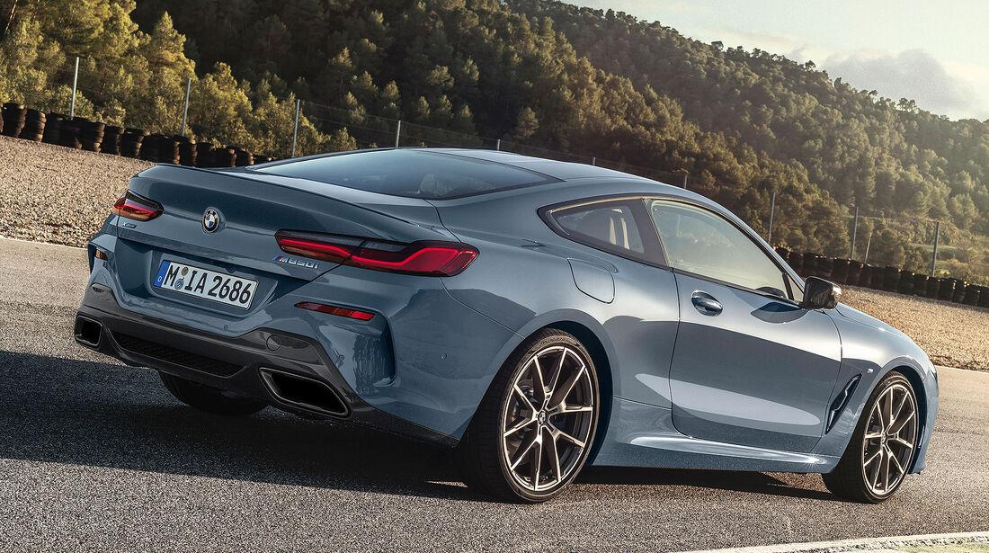 BMW 8er Modellpflege Sommer 2019