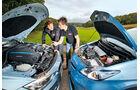 BMW Active Hybrid 3, Toyota Prius Plug-in Hybrid, Motor