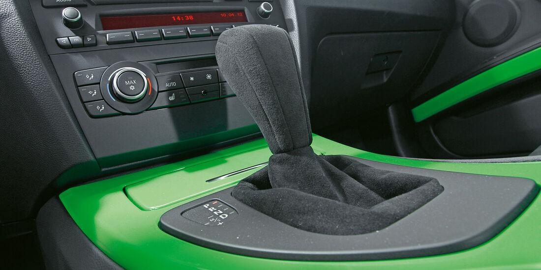 BMW Alpina B3 GT3, Schaltknauf